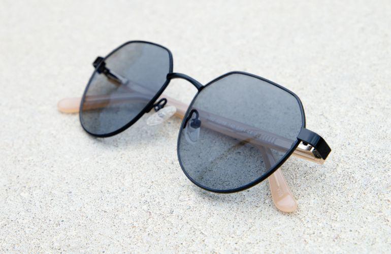 Pinto als Sonnenbrille