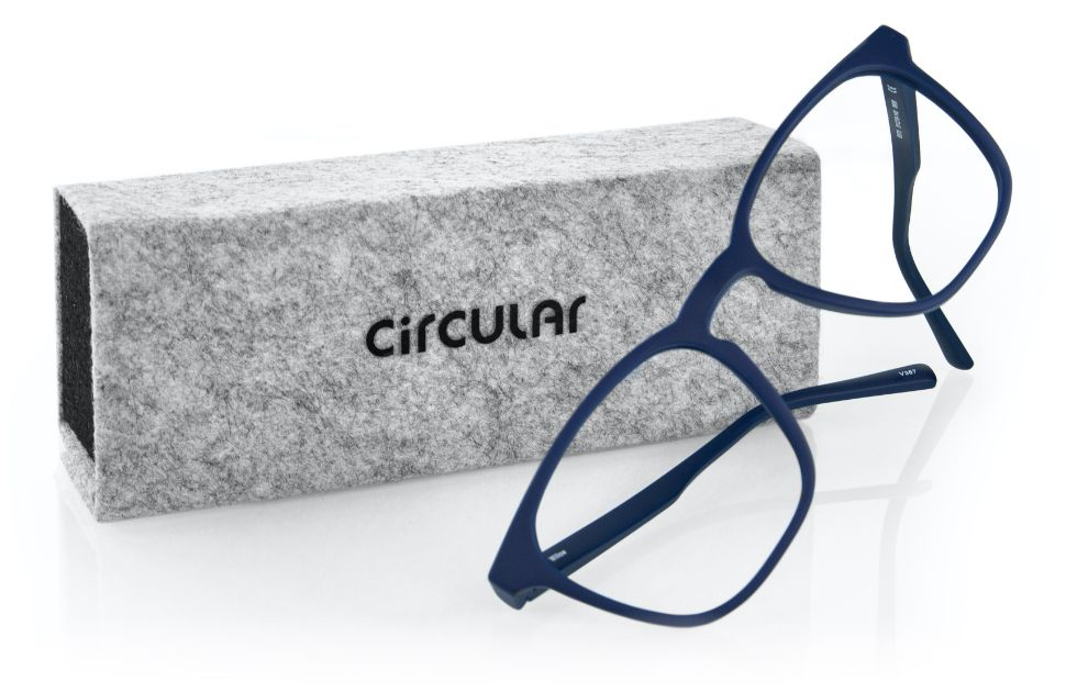 Circular by Brille24 - Modell Willow mit Etui