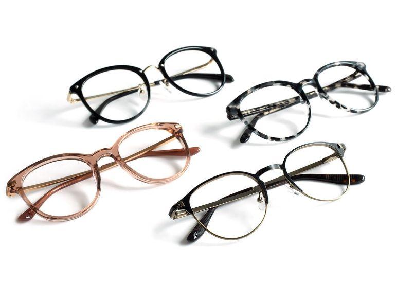 4 Brillen kostenlos zu Hause anprobieren