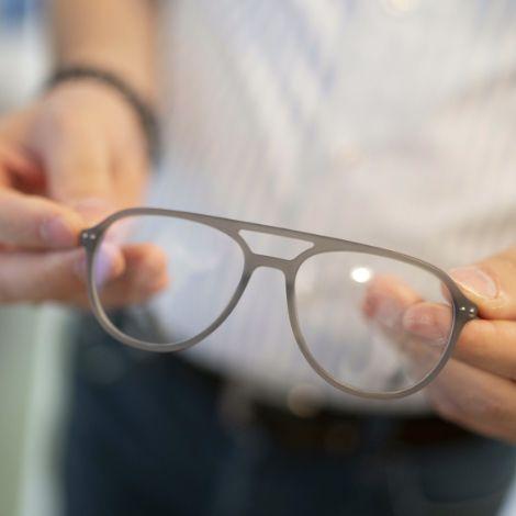 Brillenanpassung beim Partneroptiker