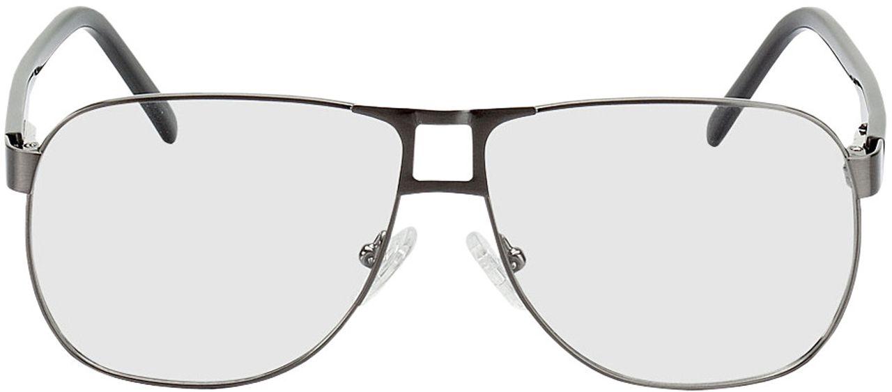 Picture of glasses model Falkenberg-anthrazit/schwarz in angle 0