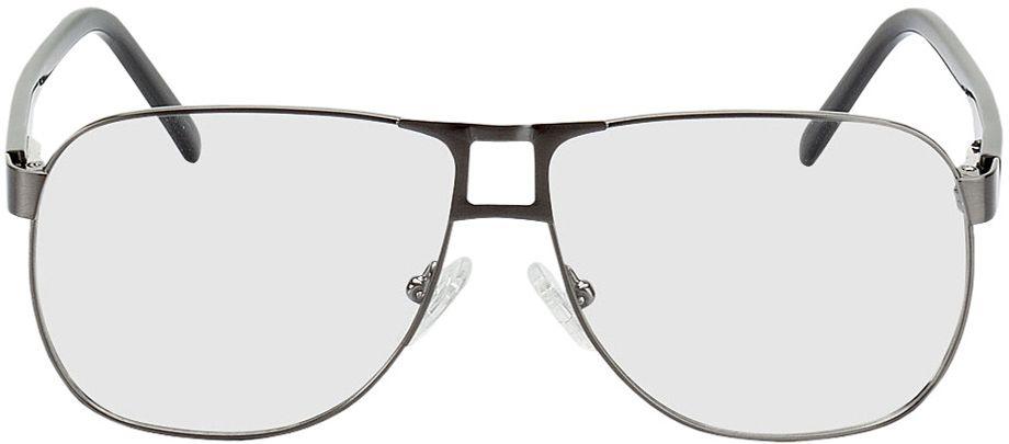 Picture of glasses model Falkenberg gun/black in angle 0