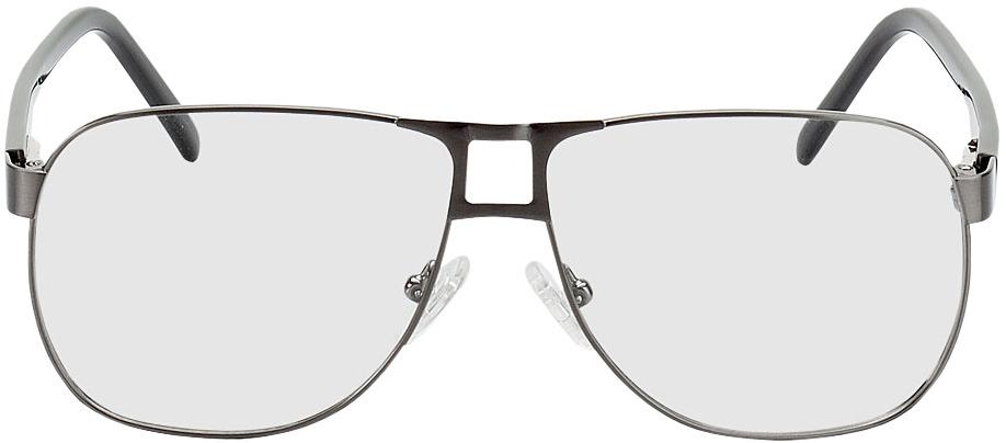 Picture of glasses model Falkenberg pólvora/preto in angle 0