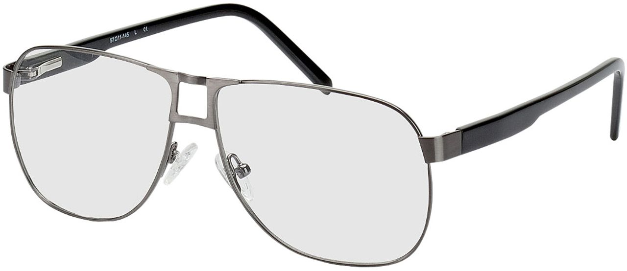 Picture of glasses model Falkenberg gun/black in angle 330