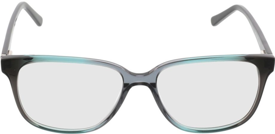 Picture of glasses model Comma70039 99 türkis-schwarz 54-16 in angle 0