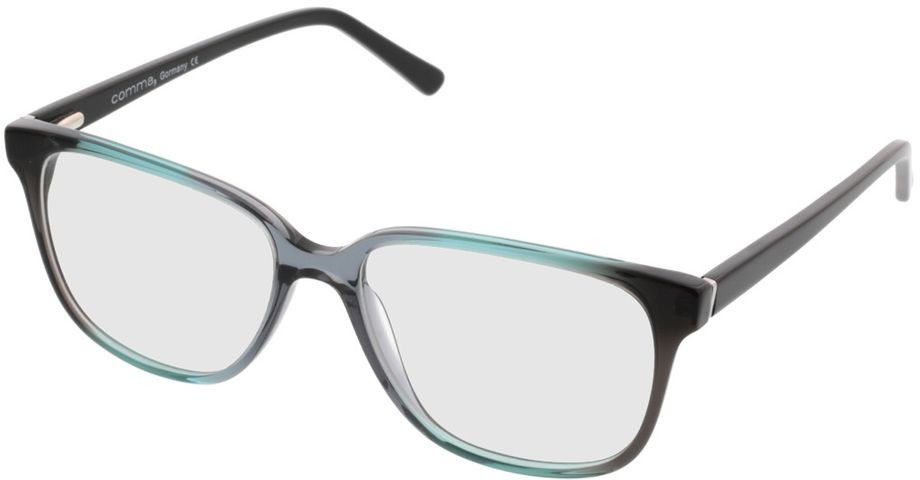 Picture of glasses model Comma70039 99 türkis-schwarz 54-16 in angle 330
