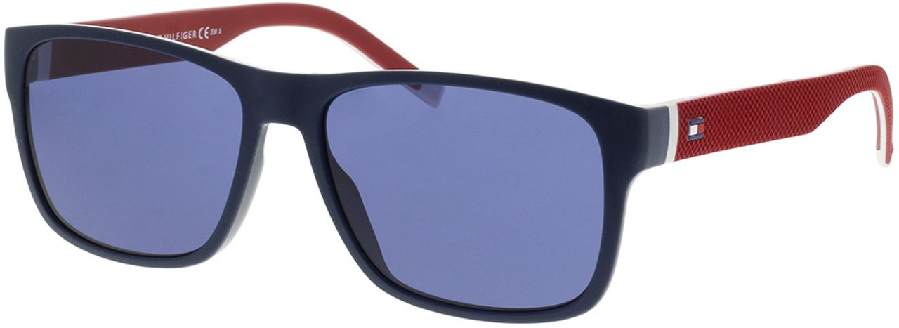 Picture of glasses model Tommy Hilfiger TH 1718/S 8RU 56-16 in angle 330