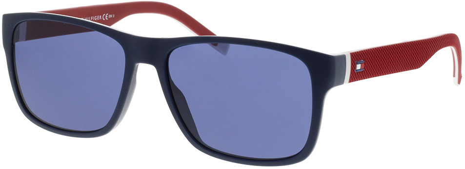 Picture of glasses model Tommy Hilfiger TH 1718/S 8RU 56-16