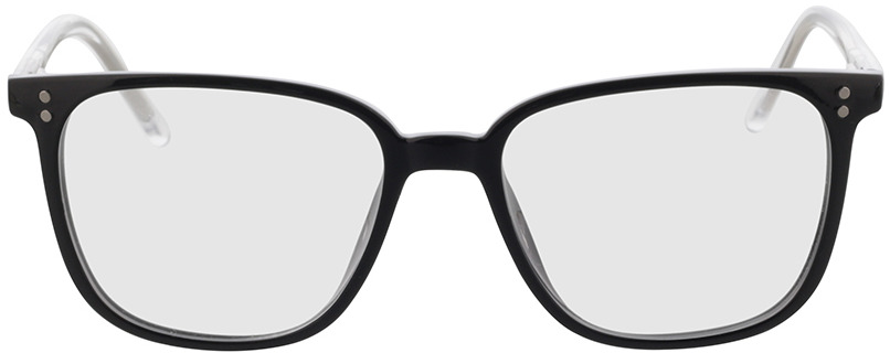 Picture of glasses model Lamesa-schwarz/transparent in angle 0