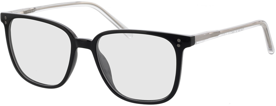 Picture of glasses model Lamesa-schwarz/transparent in angle 330