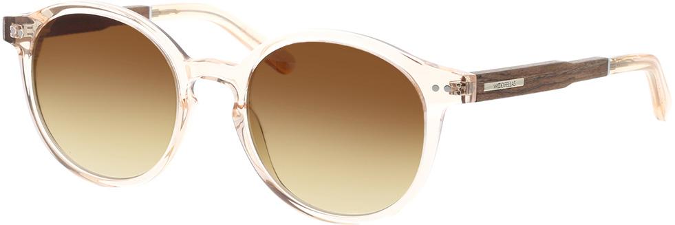 Picture of glasses model Wood Fellas Sunglasses Trostberg shiny macassar/crystal gold 51-20