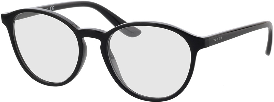 Picture of glasses model Vogue VO5372 W44 53-18 in angle 330
