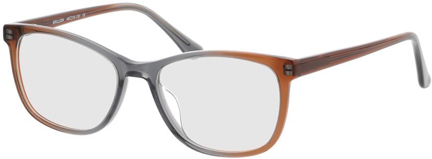 Picture of glasses model Sendai-brun in angle 330