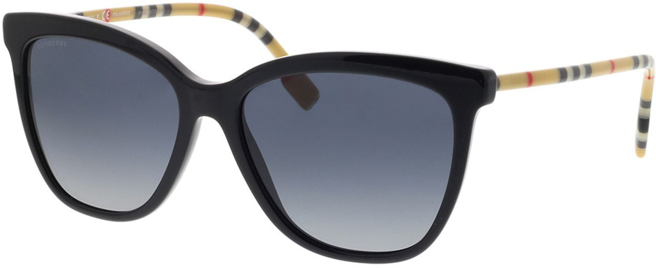 Picture of glasses model Burberry BE4308 3853T3 56-16 in angle 330