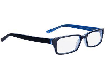 Brille Capuno-dunkelblau/blau