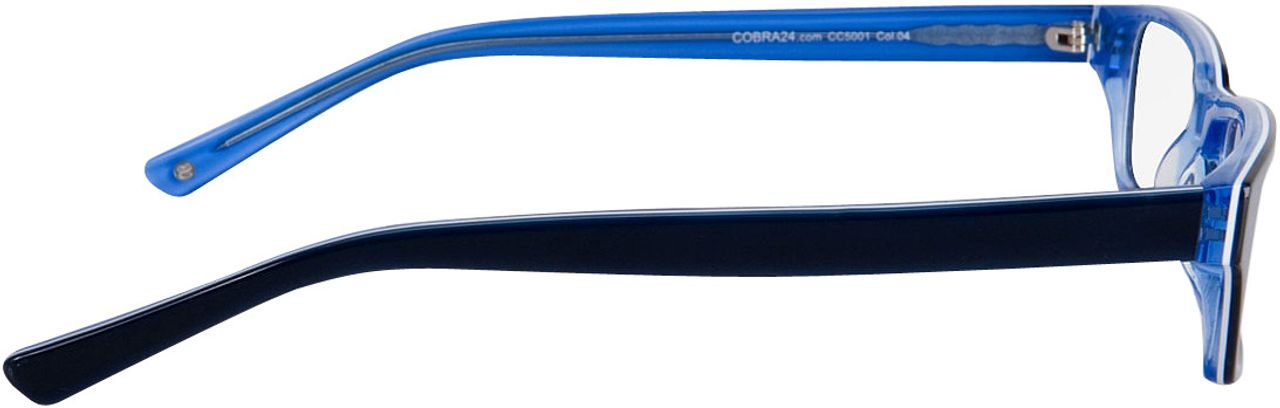 Picture of glasses model Capuno-blue in angle 90