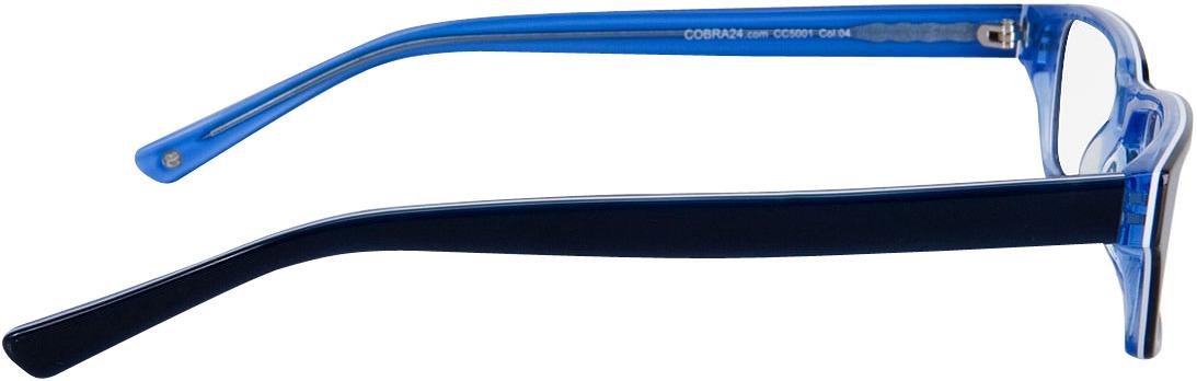 Picture of glasses model Capuno dark-blue/blue in angle 90