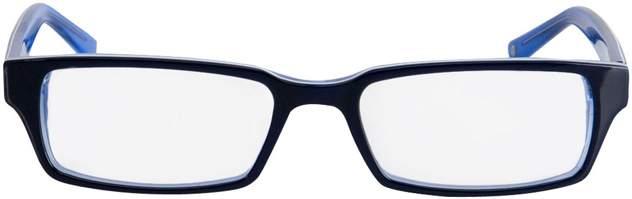 Picture of glasses model Capuno-dunkelblau/blau in angle 0