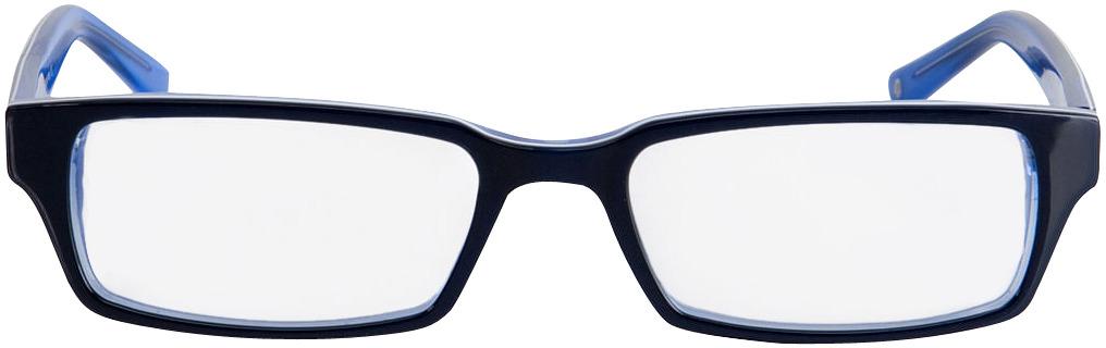Picture of glasses model Capuno dark-blue/blue in angle 0