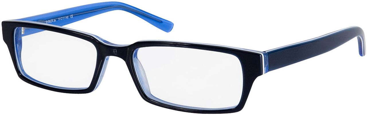 Picture of glasses model Capuno-dunkelblau/blau in angle 330
