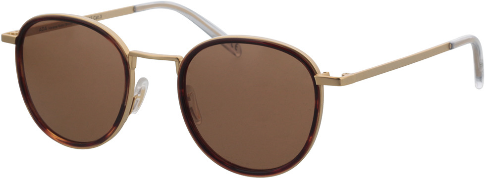 Picture of glasses model TAKE A SHOT Ada: Havana/Gold 48-22 in angle 330