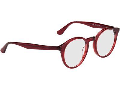 Brille Oldenburg-rot