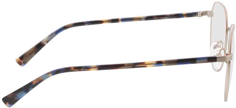 Picture of glasses model Eos-silber/blau havana in angle 90