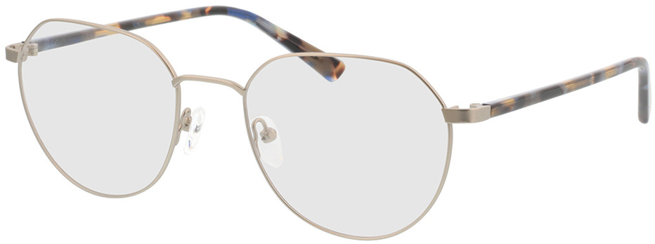 Picture of glasses model Eos-silber/blau havana in angle 330