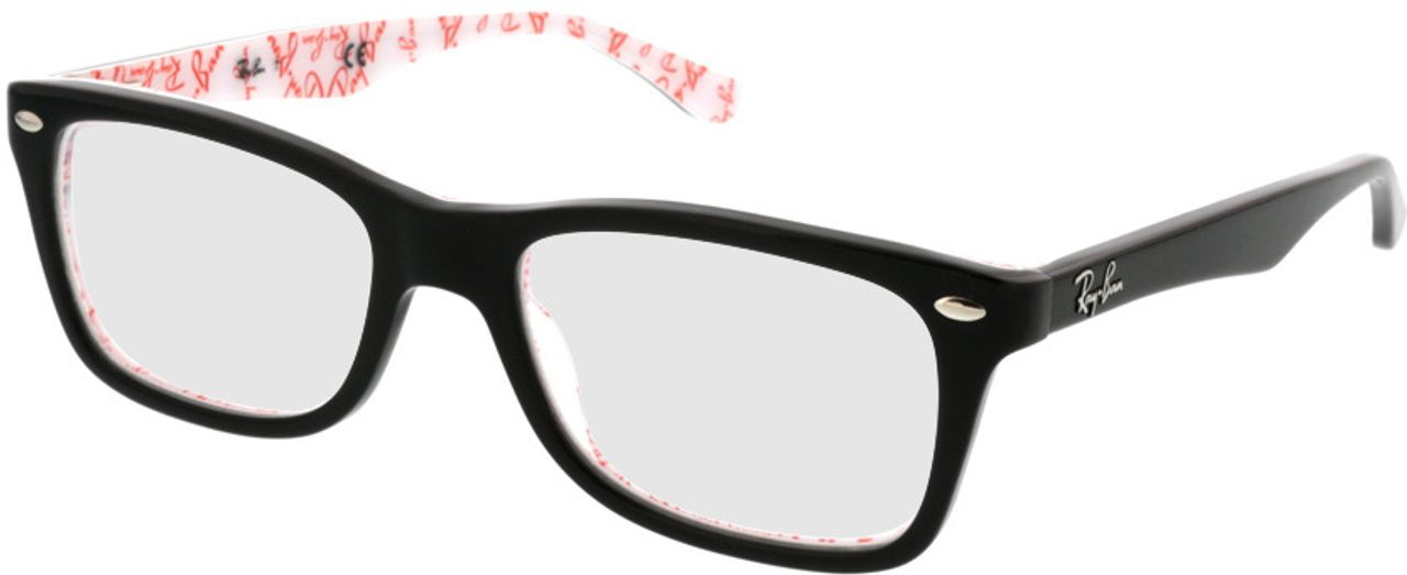 Picture of glasses model Ray-Ban RX5228 5014 50-17 in angle 330
