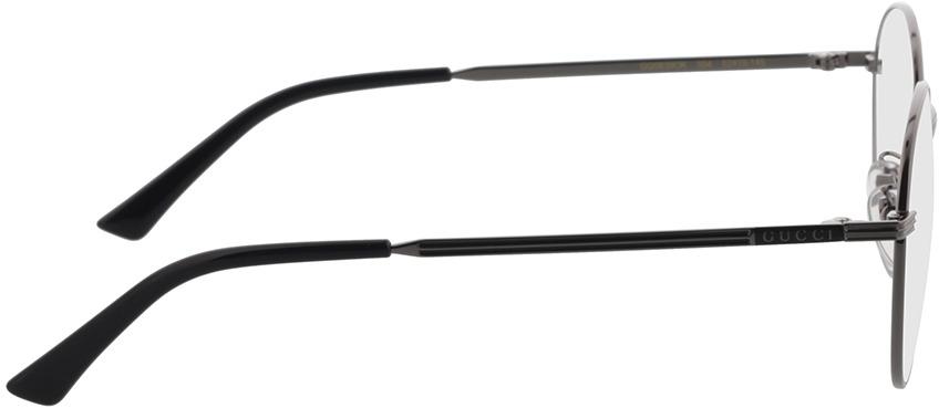 Picture of glasses model Gucci GG0839OK-004 52-19 in angle 90