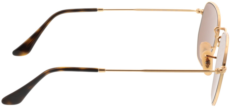 Picture of glasses model Ray-Ban RB3548N 001/Z2 48-21 in angle 90