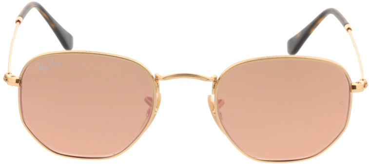 Picture of glasses model Ray-Ban RB3548N 001/Z2 48-21 in angle 0