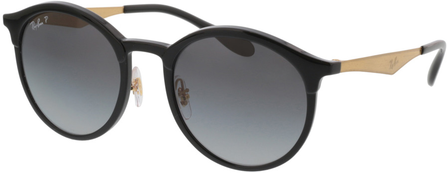 Picture of glasses model Ray-Ban Emma RB4277 6306T3 51-21 in angle 330