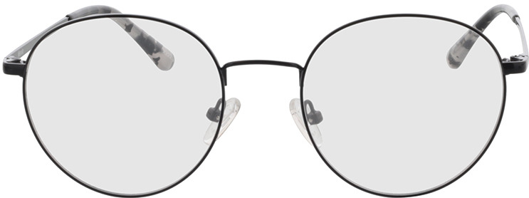 Picture of glasses model Mexia-schwarz in angle 0