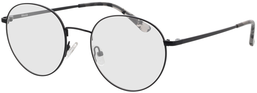 Picture of glasses model Mexia-schwarz in angle 330