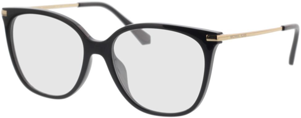 Picture of glasses model Michael Kors MK4084U 3005 54-16 in angle 330