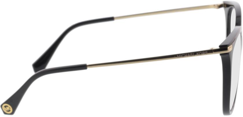Picture of glasses model Michael Kors MK4084U 3005 54-16 in angle 90