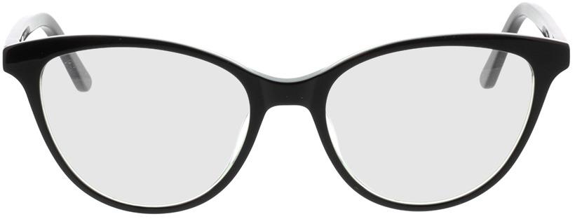 Picture of glasses model Andorra-noir/vert in angle 0