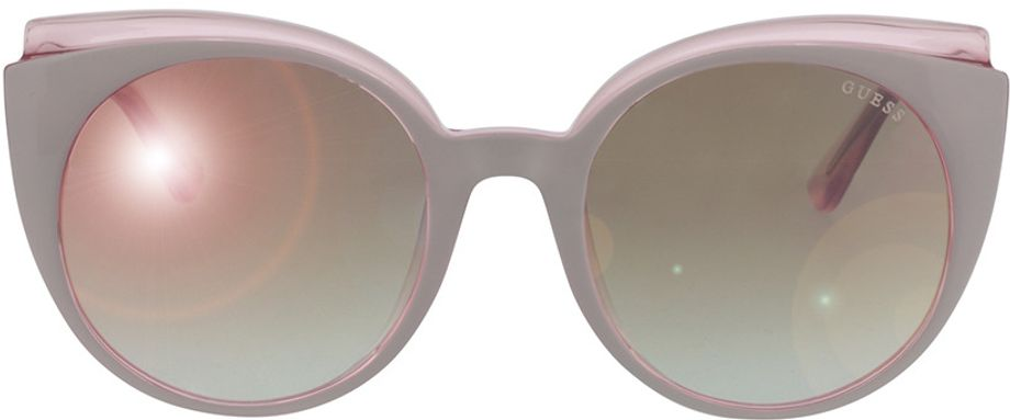 Picture of glasses model Guess GU7591 21U 53-20 in angle 0
