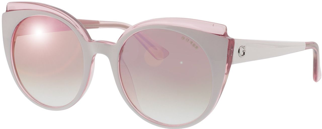 Picture of glasses model Guess GU7591 21U 53-20 in angle 330