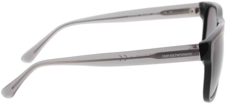 Picture of glasses model Emporio Armani EA4163 58758G 56-19 in angle 90