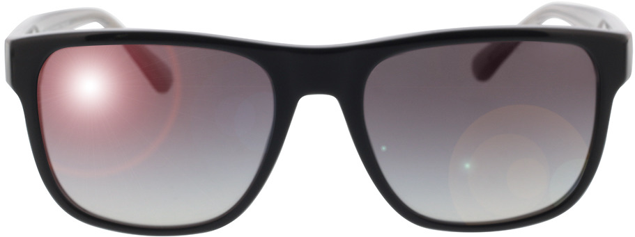 Picture of glasses model Emporio Armani EA4163 58758G 56-19 in angle 0