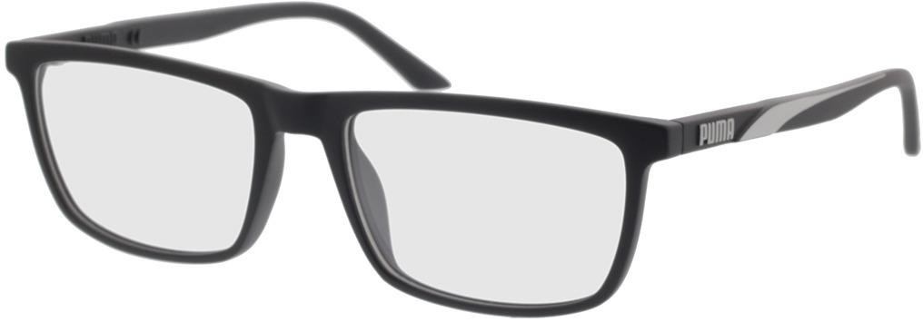 Picture of glasses model Puma PU0347O-001 56-18 in angle 330