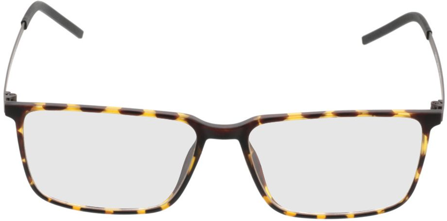 Picture of glasses model Paterna-brown-mottled-beige in angle 0