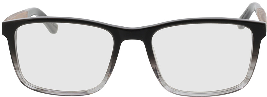 Picture of glasses model Wood Fellas Optical Eysome macassar/black 57-20 in angle 0