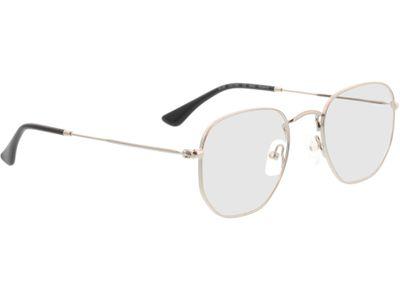 Brille Rosario-silber