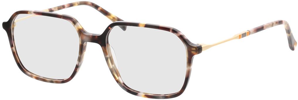 Picture of glasses model Indio-havana/matt gold in angle 330