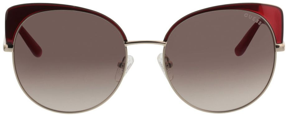 Picture of glasses model Guess GU7599 71F 56-17 in angle 0