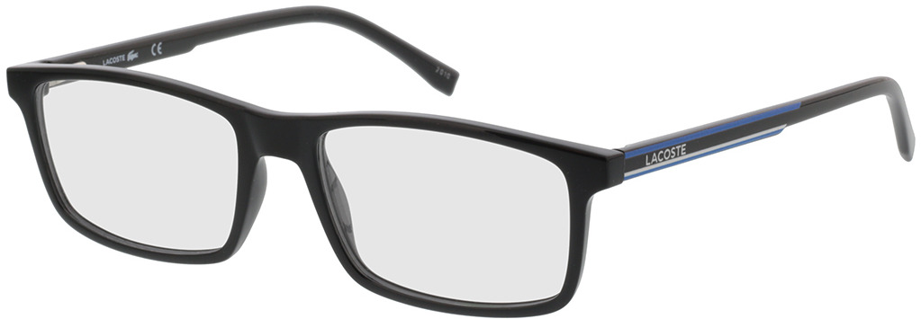 Picture of glasses model Lacoste L2858 001 54-17 in angle 330