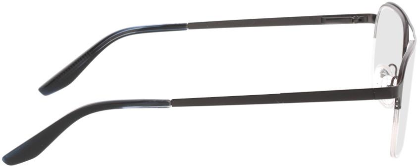 Picture of glasses model Ivano-matt braun in angle 90